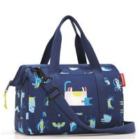 Сумка детская allrounder xs abc friends blue, полиэстер, Reisenthel